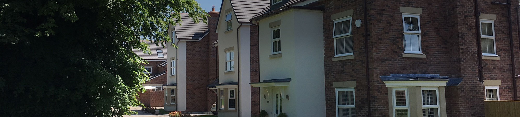 Housing development in Wrexham