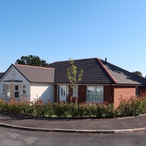 Completed Bungalow Maes Mabon, Ruabon